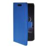 MOONCASE тонкий кожаный бумажник флип сторона держателя карты Чехол с Kickstand чехол для LG G Flex F340 синий