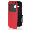 MOONCASE View Window Leather Side Flip Wallet Card Slot Pouch Stand Soft Shell чехол для Htc One Mini 2 ( M8 Mini ) Red mooncase view window leather side flip pouch stand shell back чехолдля htc one 2 m8 sapphire