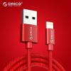 ORICO Apple Data Cable Мобильное зарядное устройство Шнур питания 2m Красный iPhone8 / X / 5S / 6s / 7 / Plus / iPad Air Mini LTF-20 orico ltf 10 кабель для передачи данных для iphone8 x 5s 6s 7 plus ipad air mini