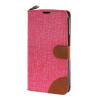 MOONCASE Alcatel One Touch POP C9 , Leather Flip Card Holder Pouch Stand Back ЧЕХОЛ ДЛЯ Alcatel One Touch POP C9 Hot pink alcatel one touch pop 3 5025d silver