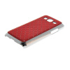 MOONCASE Luxury Chrome Plated Star Bling Back чехол для Samsung Galaxy Win Pro G3812 Red