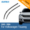 SUMKS Wiper Blades for Volkswagen Touareg 26&26 Fit Side Pin Arms 2003 2004 2005 2006 wiper blades for toyota prius 26