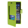 MOONCASE View Window Leather Side Flip Pouch Stand Shell Back ЧЕХОЛ ДЛЯ Nokia Lumia 920 Green roar korea for iphone 7 4 7 diary view window leather stand case green