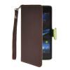 MOONCASE Лич кожи Кожа Флип сторона кошелек держателя карты Чехол с Kickstand чехол для Sony Xperia Z1 L39h Браун эхолот lucky ff718 lic 1 луч
