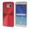MOONCASE CD Стиль хромированная Матовый алюминий задней металлической пластине Case Cove для Samsung Galaxy S6 красный кейс для диджейского оборудования thon dj cd custom case dock