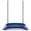 Беспроводной маршрутизатор TP-LINK TL-WR841N 300M (синий) беспроводной маршрутизатор tp link tl wr840n v2 802 11n 300mbps 4xlan 1xwan