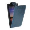 MOONCASE Smooth skin Leather Bottom Flip Pouch чехол для Huawei Ascend P7 Blue mooncase smooth skin leather bottom flip pouch чехол для samsung galaxy a5 blue
