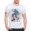 Мужская круглая шея с длинными рукавами с короткими рукавами Модные хлопчатобумажные майки Мальчик-стрит, танцы, цифровая печать майки