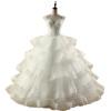 ярусы волны ясные ремни зашнуровать на пол длины бальное платье свадебное платье бальное платье
