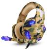 Injoy (KOTION EACH) G2600 Desert Yellow Headset Headset Питание куриного Stereo Проводной с пшеницей USB Настольный сабвуфер Компьютерные игры Компьютерные блики Голосовые игры Гарнитура