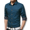 мужчины рубашки с длинными рукавами весной 2016 года новых рубашек хлопка мужчин случайных включен рубашки 5 цвета рубашки, плюс 5xl моды xl женщин весной жира мм loose хлопка жилет спортивный полосатый ремень сделать маленькие рубашки женщин бума