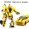 2018 New Transformers building blocks Bumblebee Optimus Prime Puzzle assembled toys Gifts for children fidget its антистрессовая игрушка кубик transformers bumblebee