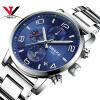 Кварцевые наручные часы Модные часы Стальные спортивные часы для мужчин Водонепроницаемый топ бренда Роскошные мужские часы Relogio Masculino Esportivo роскошные золотые часы женские кварцевые стальные наручные часы повседневные женские наручные часы женские часы