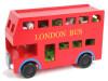 Новая деревянная детская игрушка блоков автобус лондонская автобус детская игрушка детская образовательная игрушка билет на автобус пенза белинский