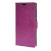MOONCASE чехол for ZTE Blade S6 Plus S6+ Кожаный бумажник флип Чехол карты с Kickstand Case Cover фиолетовый 01 skinbox lux чехол для zte blade s6 black