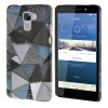 MOONCASE Personality style Hard Rubber Shell Back чехол для Cover Huawei Honor 7 грей mooncase litchi skin золото chrome hard back чехол для cover lg g4 золото