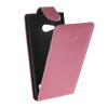 MOONCASE Smooth skin Leather Bottom Flip Pouch чехол для Nokia Lumia 730 Hot pink mooncase smooth skin leather bottom flip pouch чехол для nokia lumia 730 blue
