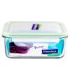 цена на [Супермаркет] Jingdong Южная Корея импортирует Санько облака glasslock Зернистое запечатанные стеклянная чаша микроволновая печь ланч ланч MCRB071 / 715ml