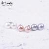 Artilady подлинная жемчужина 925 серебро серьги жемчужные украшения естественных пресноводных жемчужные серьги для женщин ювелирные изделия