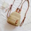 Женские летние соломенные рюкзаки SGARR Высококачественные сумки ручной работы для девочек-подростков Новые мини-рюкзаки для девочек