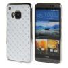 MOONCASE HTC One М9 Футляр Роскошные Chrome горный хрусталь Bling Звезда Вернуться Дело Чехол для HTC One M9 Белый htc one m9