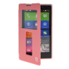 MOONCASE View Window Leather Side Flip Pouch Stand Shell Back ЧЕХОЛ ДЛЯ Nokia XL Pink чехол книжка nokia cp 632 для nokia xl черный