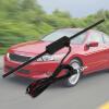 Черный Универсальный лобовое стекло автомобиля Электронный AM-FM-радио ненаправленные антенны