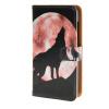 MOONCASE Microsoft Lumia 435 случая Луна Волк шаблон кожаный бумажник флип Слот для карты Кронштейн обложка чехол A 01 чехлы для microsoft lumia 435