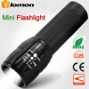 Zoom Telescopic LED Flashlight Super Bright Portable Light Fishing Hiking Camping Torchlight Police Flashlight
