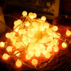 JULELYS 10M 80 Bulbs Garland Battery Powered Декоративные светодиодные лампы Ball Christmas String Lights Украшение для свадебного отдыха