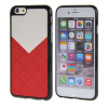 MOONCASE New Style Flexible Soft Gel TPU Silicone Skin Slim Durable чехол для Cover Apple iPhone 6 Plus ( 5.5 inch ) красный чехол для iphone interstep для iphone x soft t metal adv красный