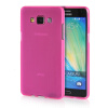 MOONCASE Transparent Soft Flexible Silicone Gel TPU Skin Shell Back ЧЕХОЛ ДЛЯ Samsung Galaxy A5 Hot Pink mooncase transparent soft flexible silicone gel tpu skin shell back чехол для samsung galaxy a3 hot pink