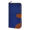 MOONCASE Galaxy S5 , Leather Wallet Flip Card Holder Pouch Stand Back ЧЕХОЛ ДЛЯ Samsung Galaxy S5 Dark blue promate tava s5 чехол для samsung galaxy s5 blue