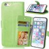 MOONCASE чехол для Apple, iPhone 4/4S/ 5/5S 6/6s /6 Plus/ 6s Plus Фолио Флип Слот кожаный бумажник карты и складная подставка Feature крышки мешка чехол накладка для iphone 5 5s 6 6s 6 plus 6s plus цветочный