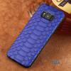 Подлинная кожаный чехол для Samsung Galaxy S7 S8 Case Естественная кожа Python для примечания 8 Задняя обложка printio чехол для samsung galaxy s7 кожаный