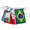 2018 Россия Струнный флаг Страны во всем мире Флаг Флаг, Кубок мира 32 Команды Олимпийские игры Висячие флаги Флаг для украшения