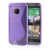 MOONCASE S - Line Soft Flexible Silicone Gel TPU Skin Shell Back ЧЕХОЛ ДЛЯ HTC One M9 Purple mooncase s line soft flexible silicone gel tpu skin shell back чехол для htc one m9 blue