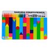 Сакура Сакура 24 цветные пластиковые карандаши цветные карандаши костюм FY-24 (олово) импортируется из Японии [] сахарница 400мл сакура j07 ky027g 1277349