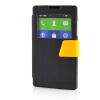 MOONCASE View Window Leather Side Flip Pouch Ultra Slim Shell Back ЧЕХОЛ ДЛЯ Nokia XL Black mooncase view window leather side flip pouch stand shell back чехол для nokia xl yellow