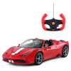 где купить Rastar Радиоуправляемый автомобиль для мальчиков Детская игрушка Ferrari 458 Модель автомобиля с зарядкой  74560 красный по лучшей цене