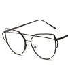 Негабаритные очки для глаз для глаз Cat с прозрачной линзой Vintage Retro Women Men Optical Frames Eyewear Oculos негабаритные очки для глаз для глаз cat с прозрачной линзой vintage retro women men optical frames eyewear oculos