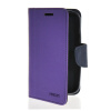 MOONCASE Classic cross pattern Leather Side Flip Wallet Card Pouch Stand Soft Shell Back чехол для Motorola Moto E Purple mooncase slim leather side flip wallet card slot pouch stand shell back чехол для motorola moto droid turbo xt1254 azure