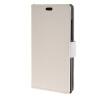 MOONCASE Vivid colors Leather Wallet Card Slot Bracket Back чехол для BlackBerry Leap White blackberry leap