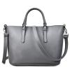Bolso Mujer Negro 2018 Fashion Hobos Женская сумка Женская марка Кожаные сумки Весенняя повседневная сумка для сумки Большие сумки для женщин
