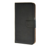 MOONCASE Leather Side Flip Wallet Card Slot Pouch Stand Shell Back чехол для Samsung Galaxy S6 Black mooncase soft silicone gel side flip pouch hard shell back чехолдля samsung galaxy s6 grey