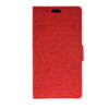 MOONCASE Cute Little Witch Leather Side Flip Wallet Card Holder Stand Pouch ЧЕХОЛ ДЛЯ Huawei Ascend Y635 Red luxury stand flip