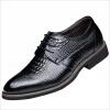 Мужская обувь Бизнес кожа Lace Up нарядная и повседневная одежда платье офиса Свадебная обувь