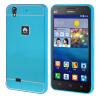 MOONCASE Huawei G620 Случай 2 В 1 жесткий бампер вставить обложка чехол для Huawei Ascend G620 синий аксессуар аккумулятор huawei ascend g620 hb474284rbc partner 2000mah пр037790