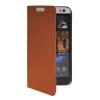 MOONCASE тонкий кожаный бумажник флип сторона держателя карты Чехол с Kickstand чехол для HTC Desire 616 Коричневый мобильный телефон htc desire 516 htc 516 core 5 0 1 4 5mp gps wifi