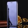 iPhone 5 / 5S / se роскошь зеркало взгляд зеркало пу покрытия флип умный очистить окно телефон дело игровые телефоны fisherprice умный телефон